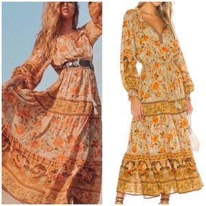 Spell & The Gypsy Seashell Midi Dress Sz Medium